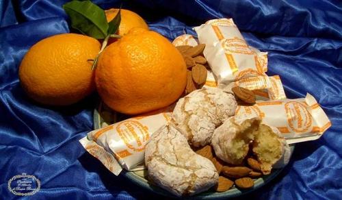 Pasta di Mandorla all'Arancia - Pasticceria L'Alhambra